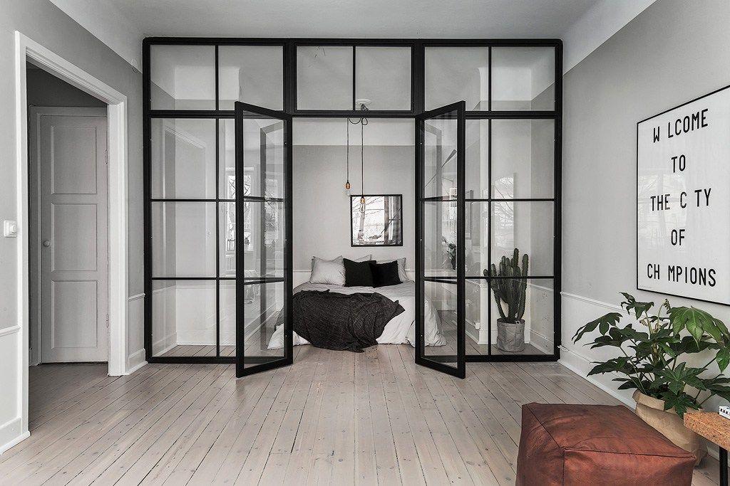 Une chambre vitrée – PLANETE DECO a homes world
