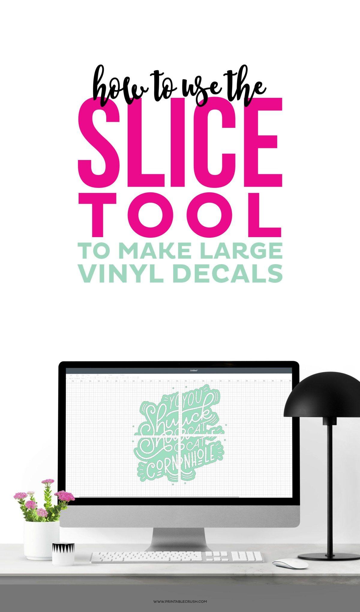 Vinyl Decals Create Large Decals In Cricut Design Space Cricut Design Cricut Tutorials Cricut Vinyl