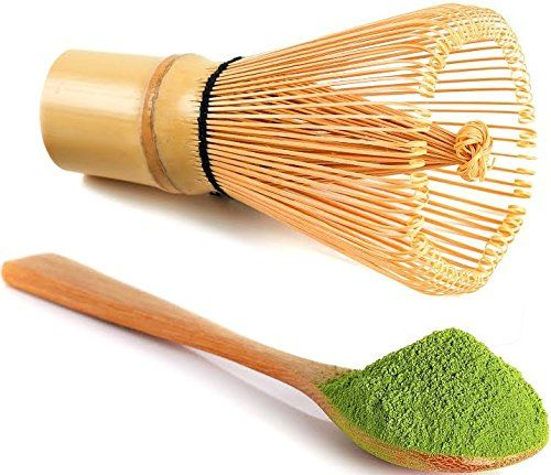 Uvernal Matcha Whisk Tea Spoon Natural Bamboo Matcha Green Tea