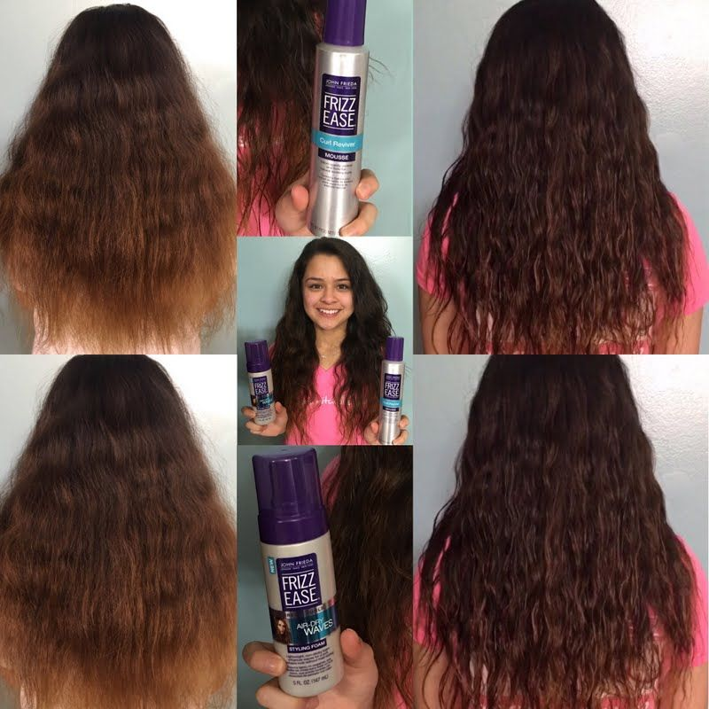 Natural Spring Curls By Gimena S Frizz Free John Frieda Hair John Frieda Hair Care