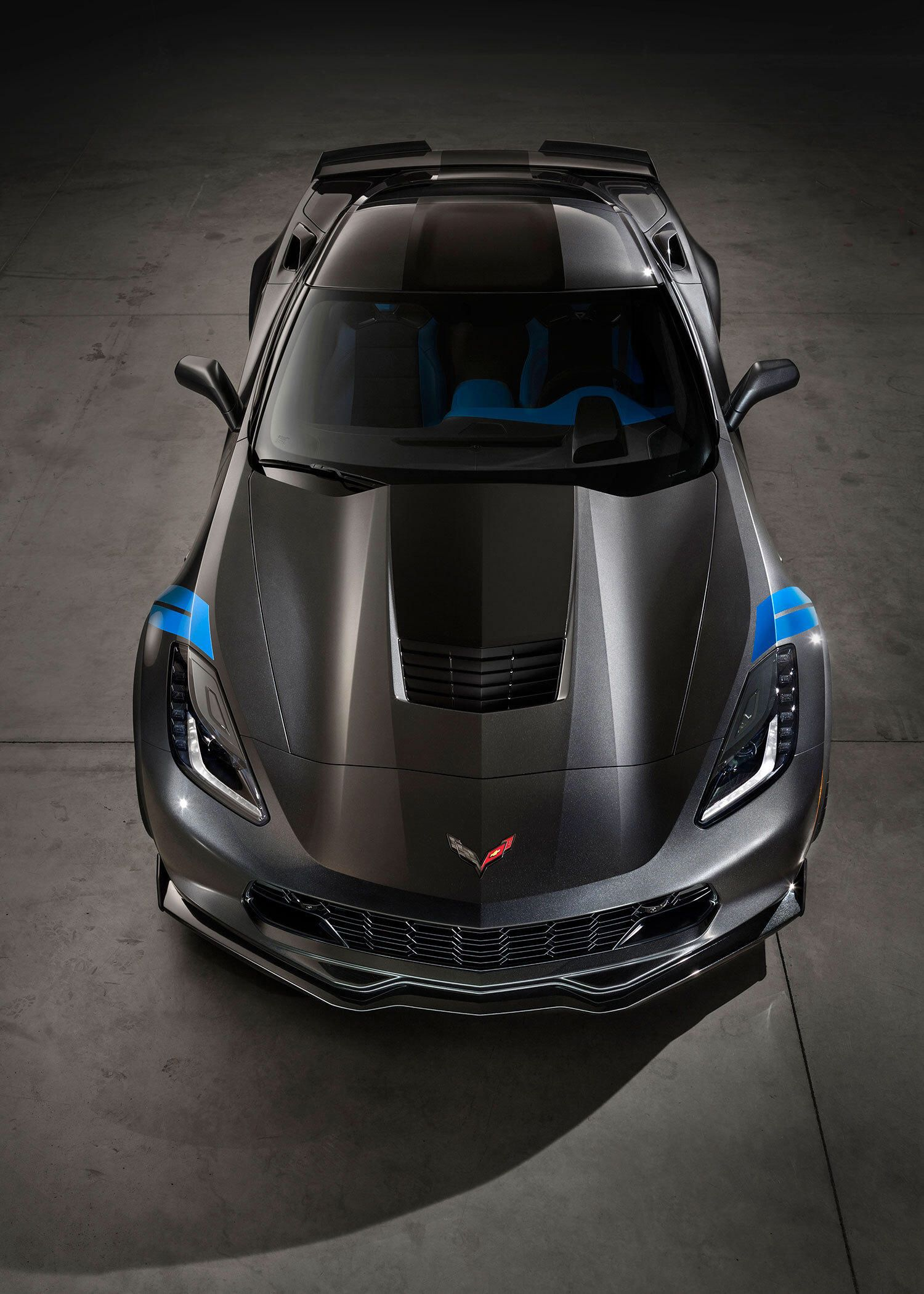 2017 Chevrolet Corvette Grand Sport Meshes Lt1 With Z06 Goos Gallery Via Motor Trend News Iphone