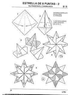 Photo of **Estrela de origami e Kusudama Trick são perfeitas**