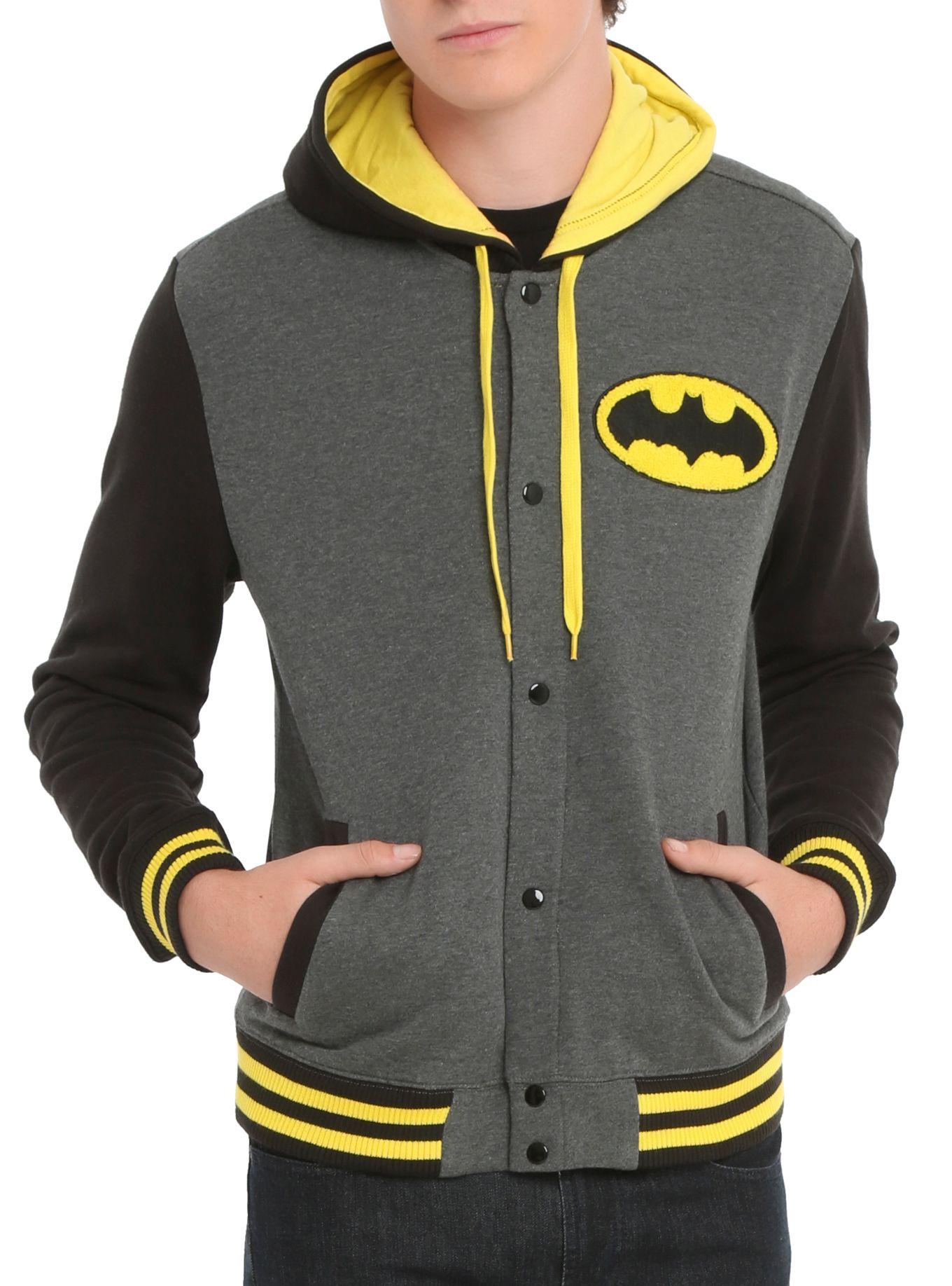 DC Comics Batman Varsity Hoodie | Hot Topic