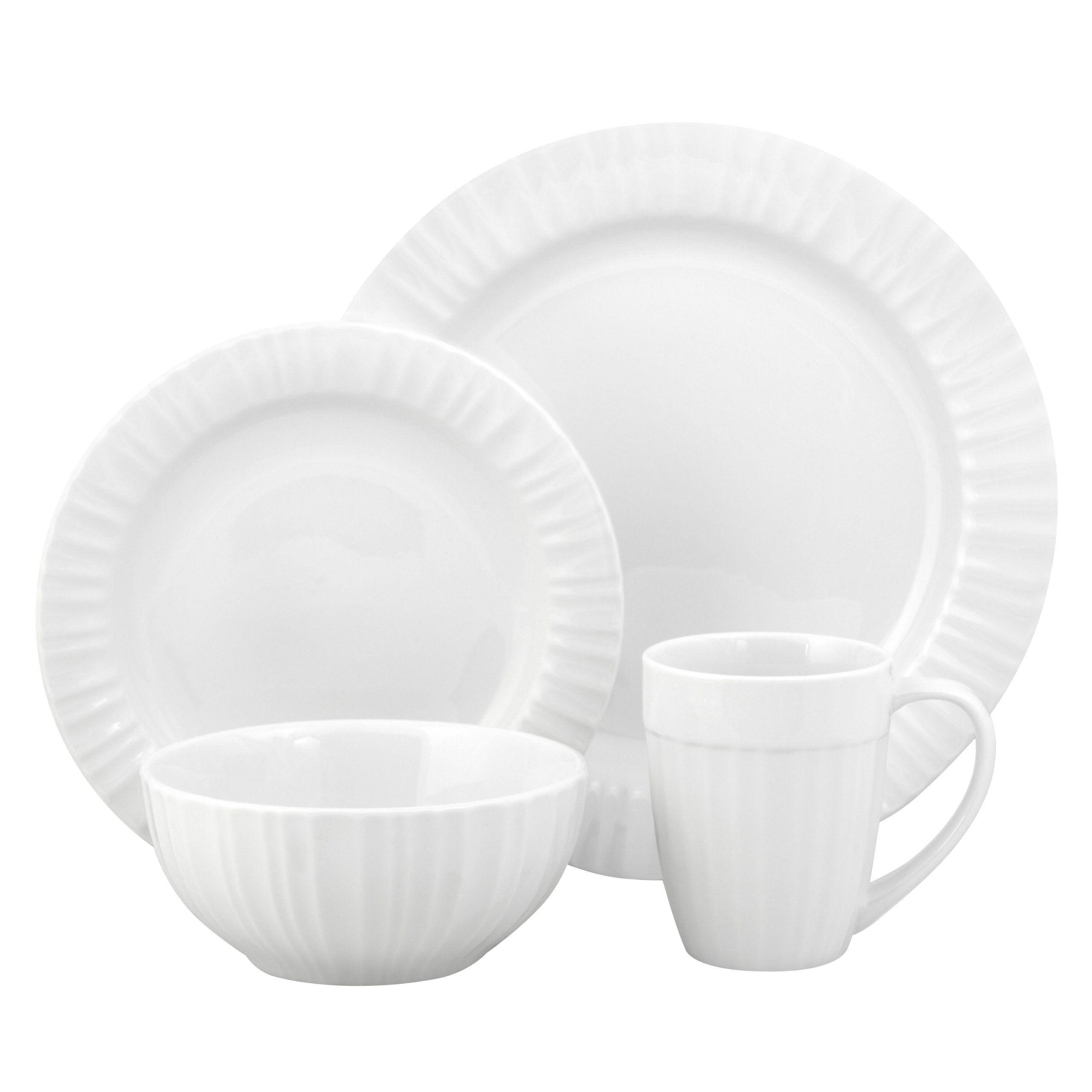Amazon.com Corningware French White 16-Piece Bakeware Set Service for 4  sc 1 st  Pinterest & Amazon.com: Corningware French White 16-Piece Bakeware Set Service ...
