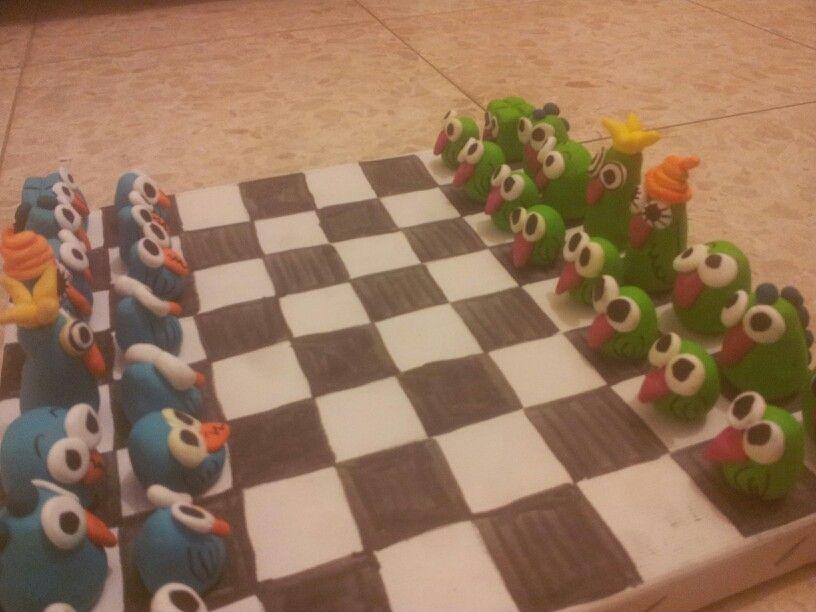 Diy Chess Set Fimo Diy Chess Set Clay Crafts Kids Chess Set