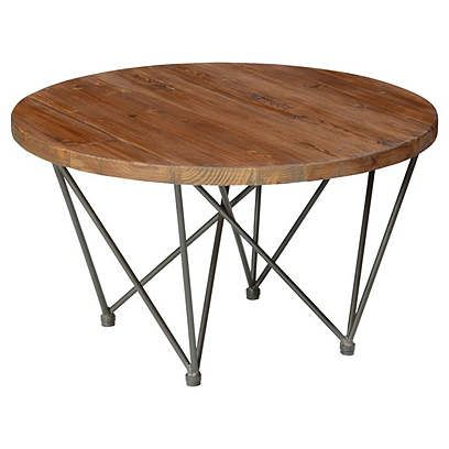 Coffee Tables One Kings Lane Bea 32 Round Coffee Table Living