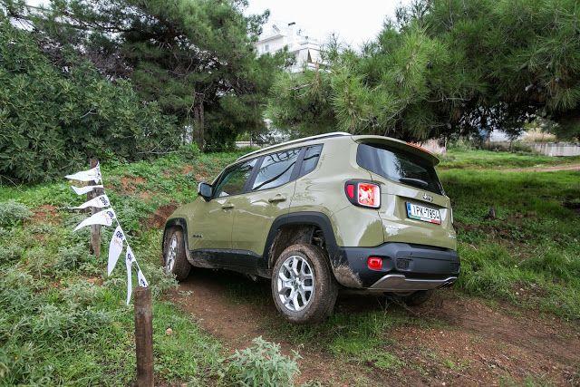 Rixnoyme Ena Jeep Renegade Stis Laspes 8a Ta Kataferei Jeep Renegade Suv Jeep