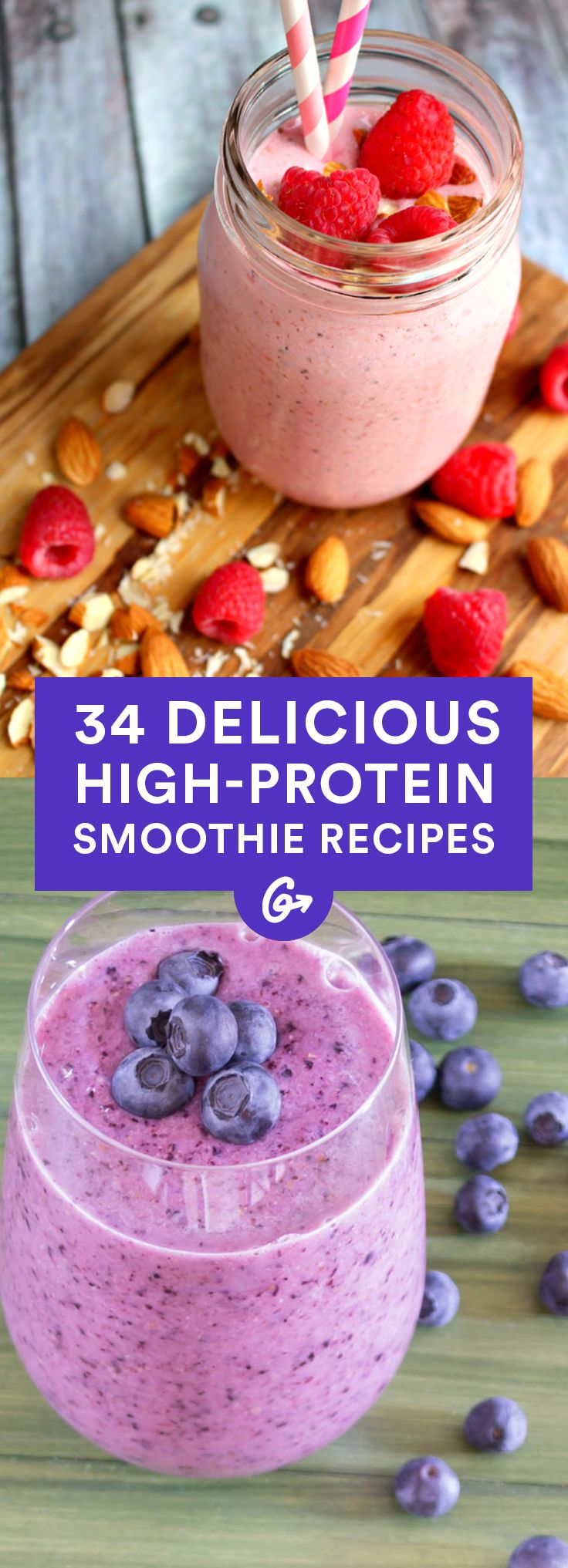 34 High-Protein Smoothie Recipes That Are Easy to Make ...