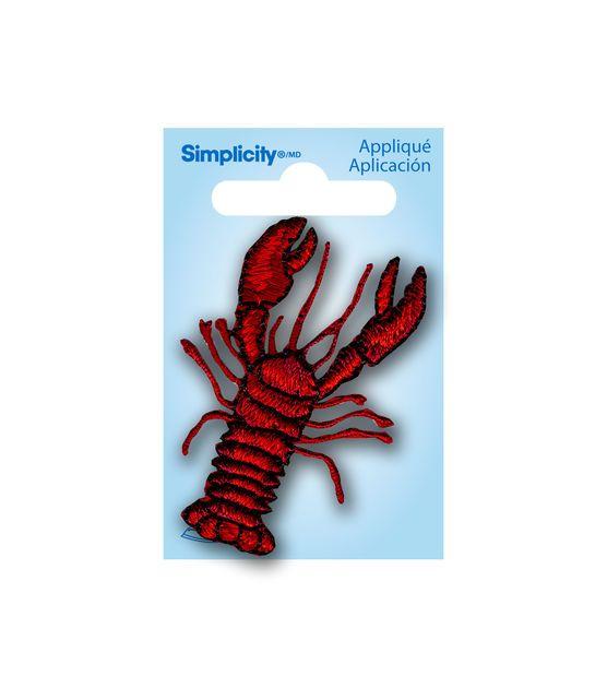 Lobster Applique Crochet applique, Fabric crafts, Joann