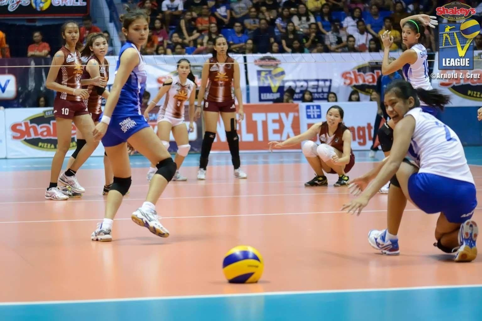 Cagayan A Win Away From Crown Athlete Volleyball Players Cagayan