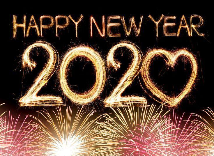 2020 Bilder Fur Ein Frohes Neues Jahr Happy New Year Fireworks Happy New Year Message New Year Message