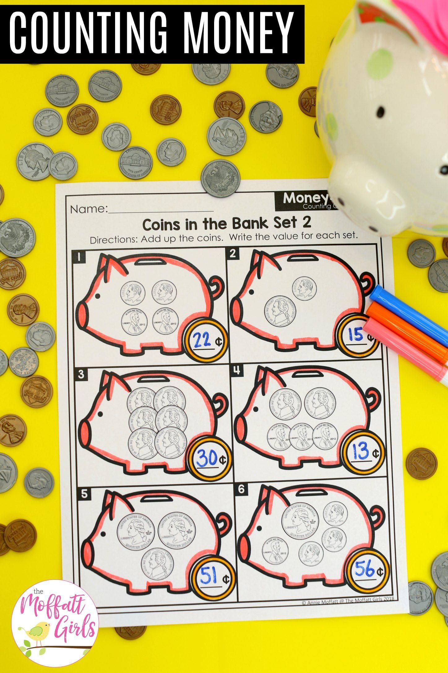 First Grade Math Money