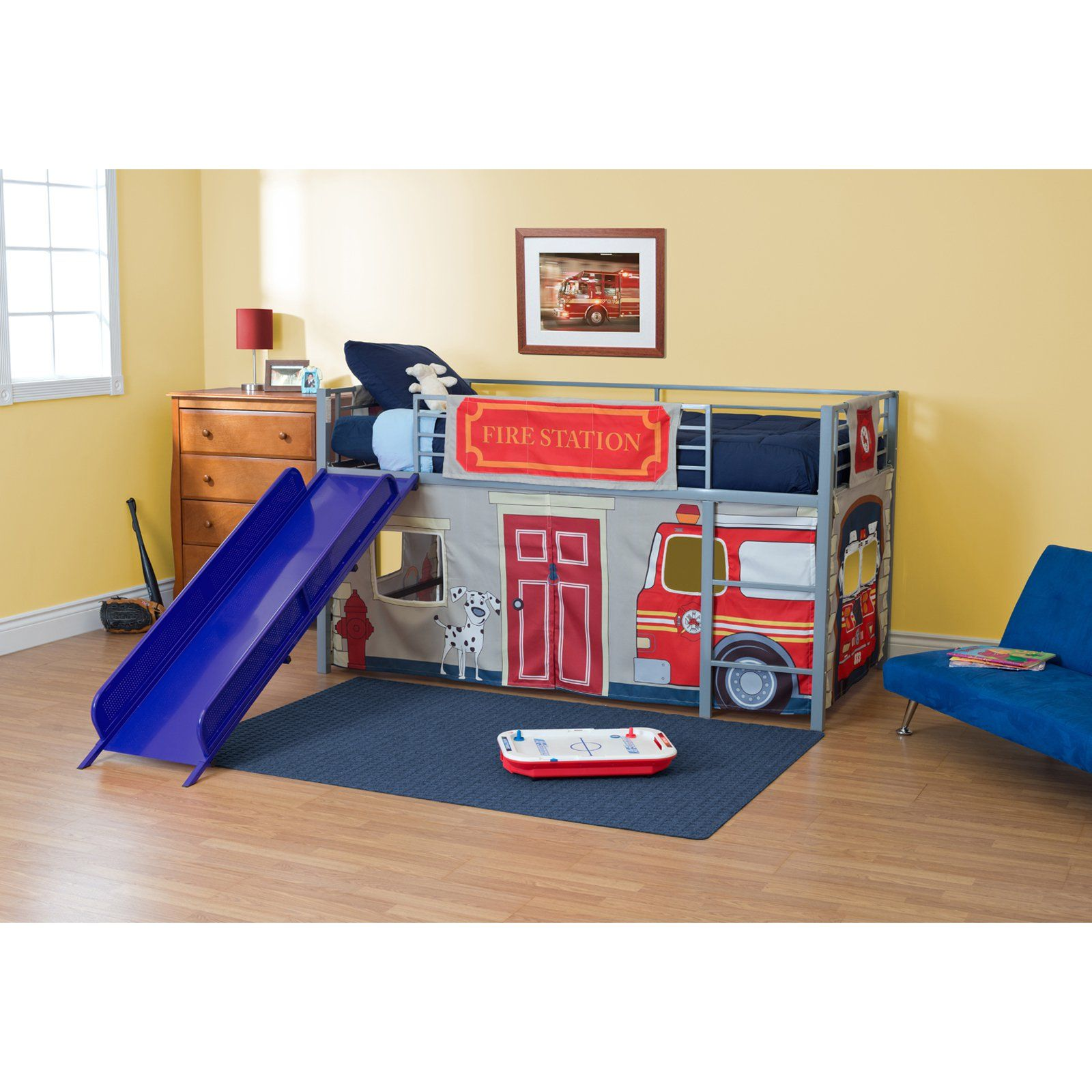 Have to have it. Fire Department Junior Fantasy Loft with