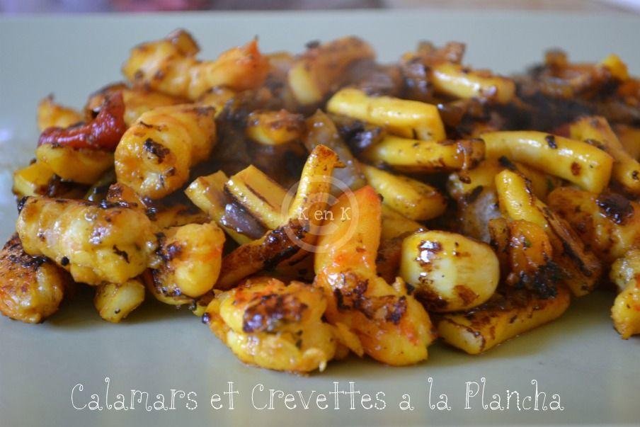 Recettes barbecue plancha - Recette calamar grille barbecue ...