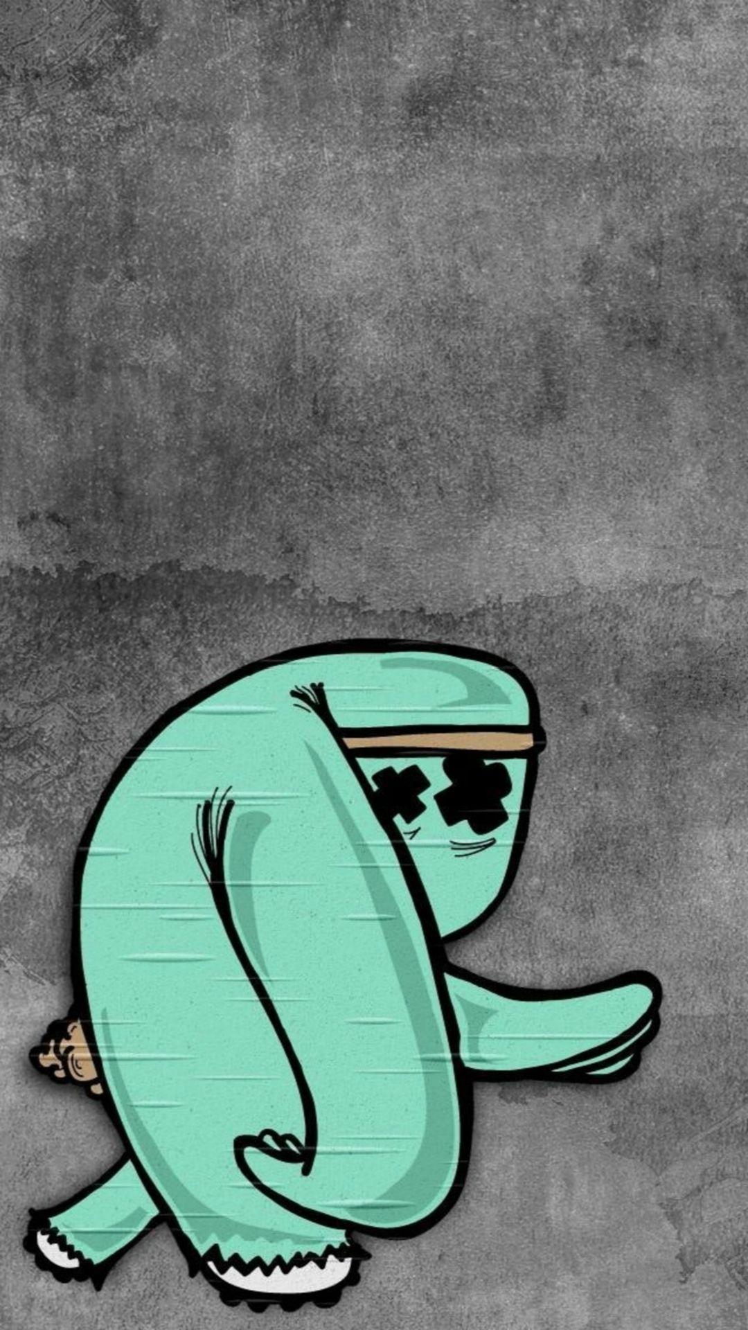 Abstract Fun Cartoon Art iPhone 8 Wallpapers   Apple ...