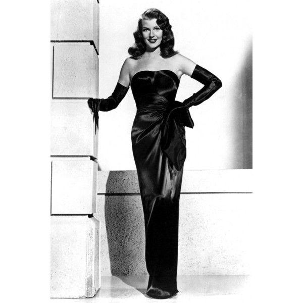 1940s Fashion The Decade Captured In 40 Beautiful Pictures ❤ liked on Polyvore featuring people and rita hayworth