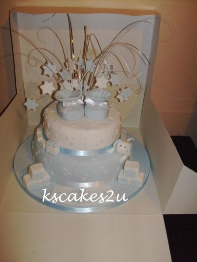christening cake By kscakes2u on CakeCentral.com