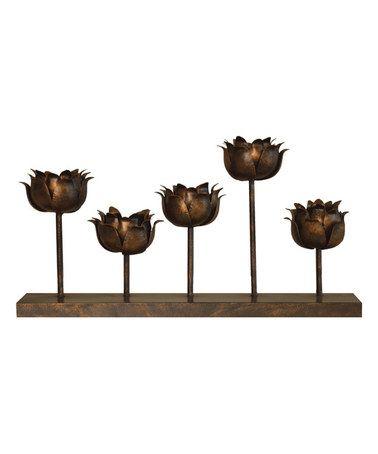 Look at this #zulilyfind! Flower Block by Haven #zulilyfinds