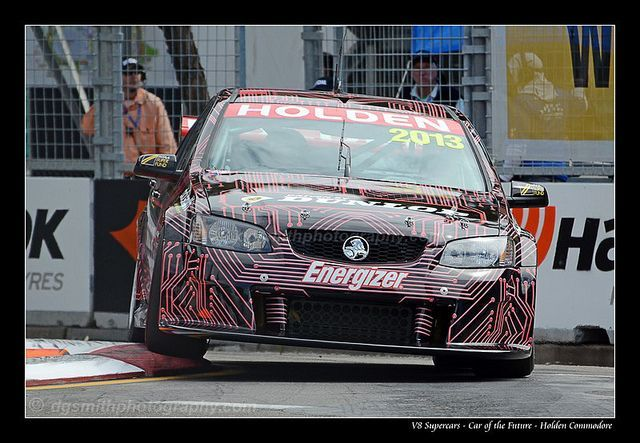 Commodore - V8 Supercars Car of the Future     As a photographer I have a passion for photographing the V8 supercars.