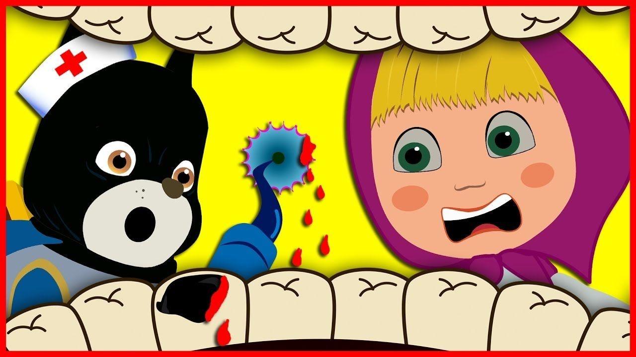 ماشا ودورا يذهبان الى طبيب الاسنان ودورا تخلع ضرسها كرتون ماشا والدب افلام كرتون للاطفال مضحكه Youtube Character Fictional Characters