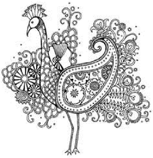 intricate animal coloring pages