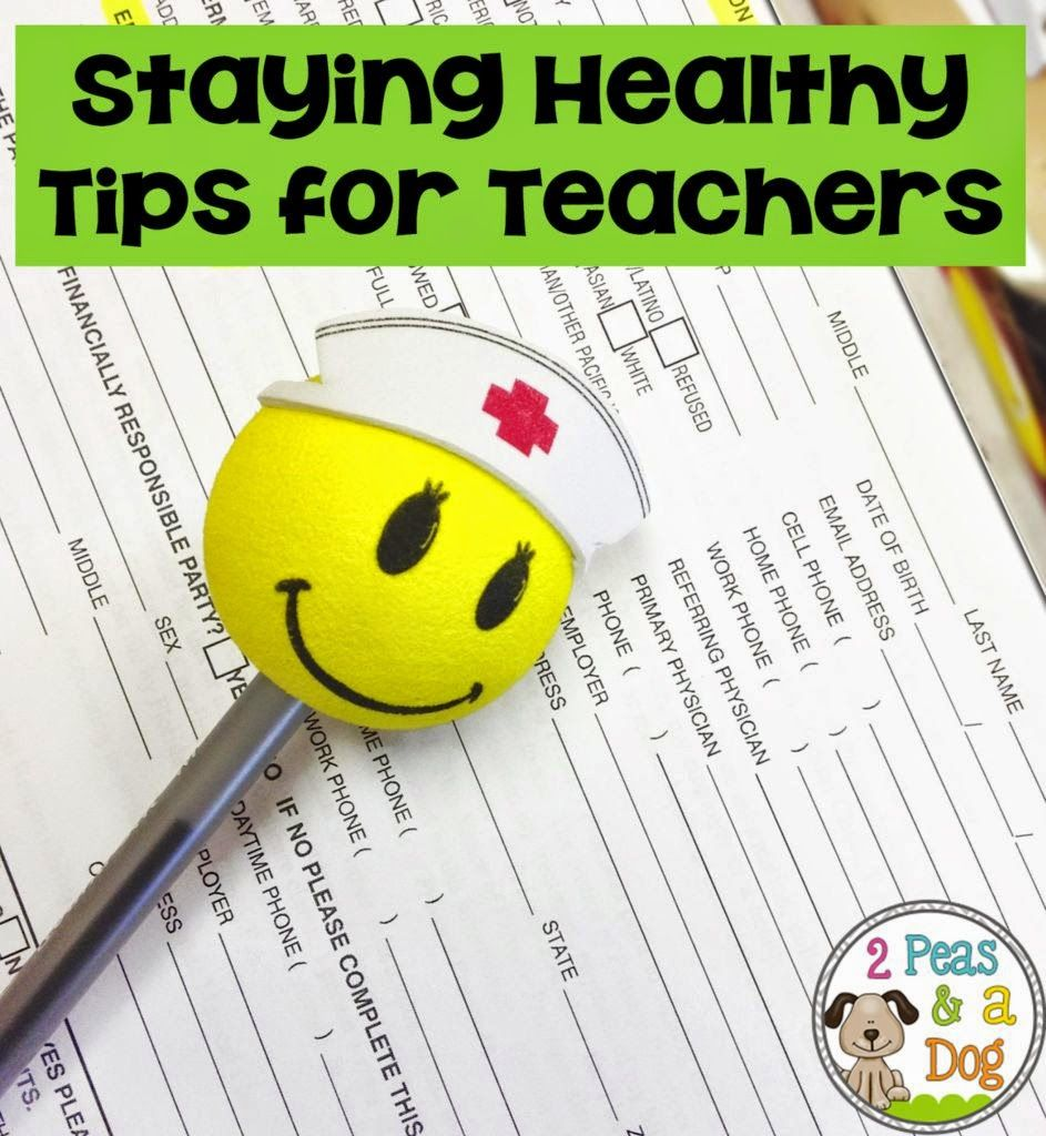Staying Healthy: Part 1 Physical Health A blog post outlining how teachers need to take care of their physical health.