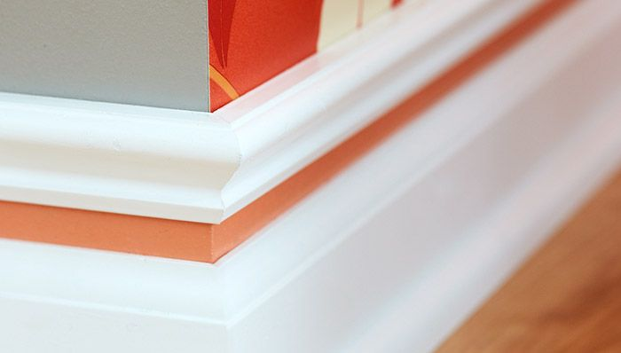 Diy how to customize baseboards how to add interest to for Cost to paint baseboard