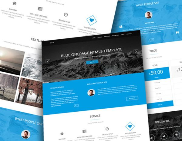 30 Best Free And Premium Bootstrap Html5 Responsive Templates Company Profile Template Company Profile Design Templates Templates
