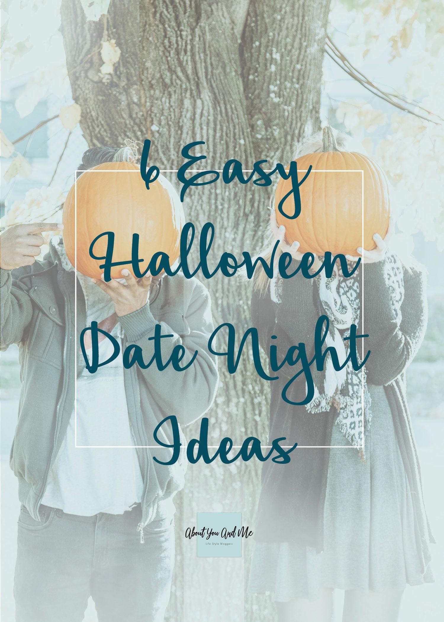 6 Easy Halloween Date Night Ideas Halloween date, Easy