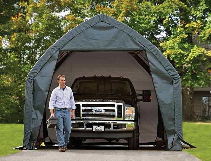 best portable one car garage shelter pictures 013