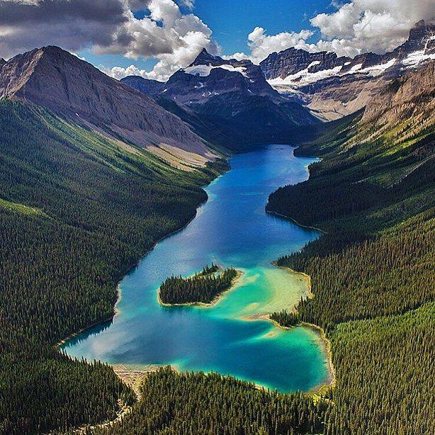 Amazing Places Canada: Marvelous. Marvel Lake Alberta Canada. #travelnoire