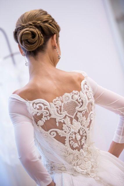la novia de la espalda maravillosa: carmen | vestido novia 2017