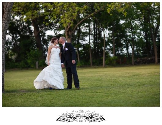 Texas Country Bride and Groom on their Wedding Day