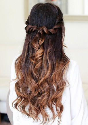 25 Awesome Bridesmaid Hairstyles Wedding Hair Pinterest Hair