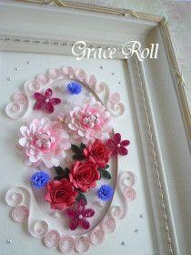Quilling Flower Arrangement の画像|Grace Roll ~ペーパークイリング~
