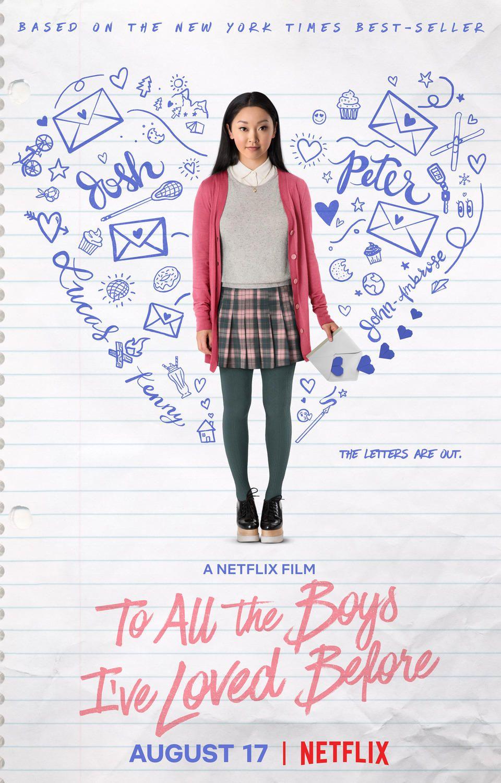 Das erste Poster zum neuen Netflix-Film To All the Boys I've Loved Before ist da!