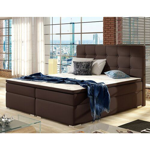 Boxspringbett Youngs Mit Topper Zipcode Design Liegeflache 160 X