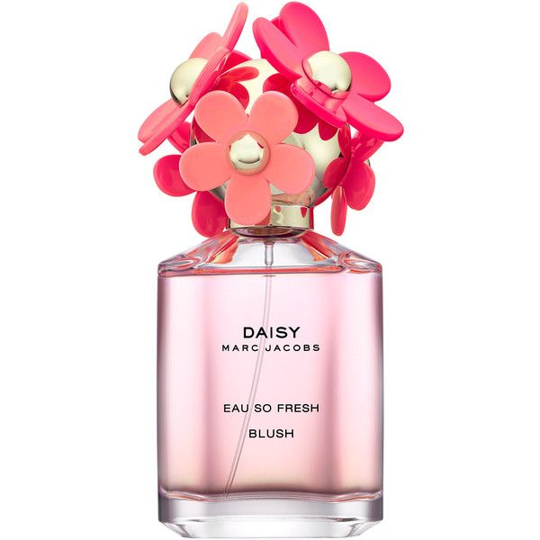 Marc Jacobs Fragrances Daisy Eau So Fresh Blush ($92) ❤ liked on Polyvore featuring beauty products, fragrance, perfume, beauty, makeup, pink, filler, marc jacobs fragrance, marc jacobs and perfume fragrances