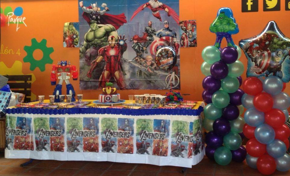Sencilla Decoracion Avenger Decoración De Unas Fiesta Eventos