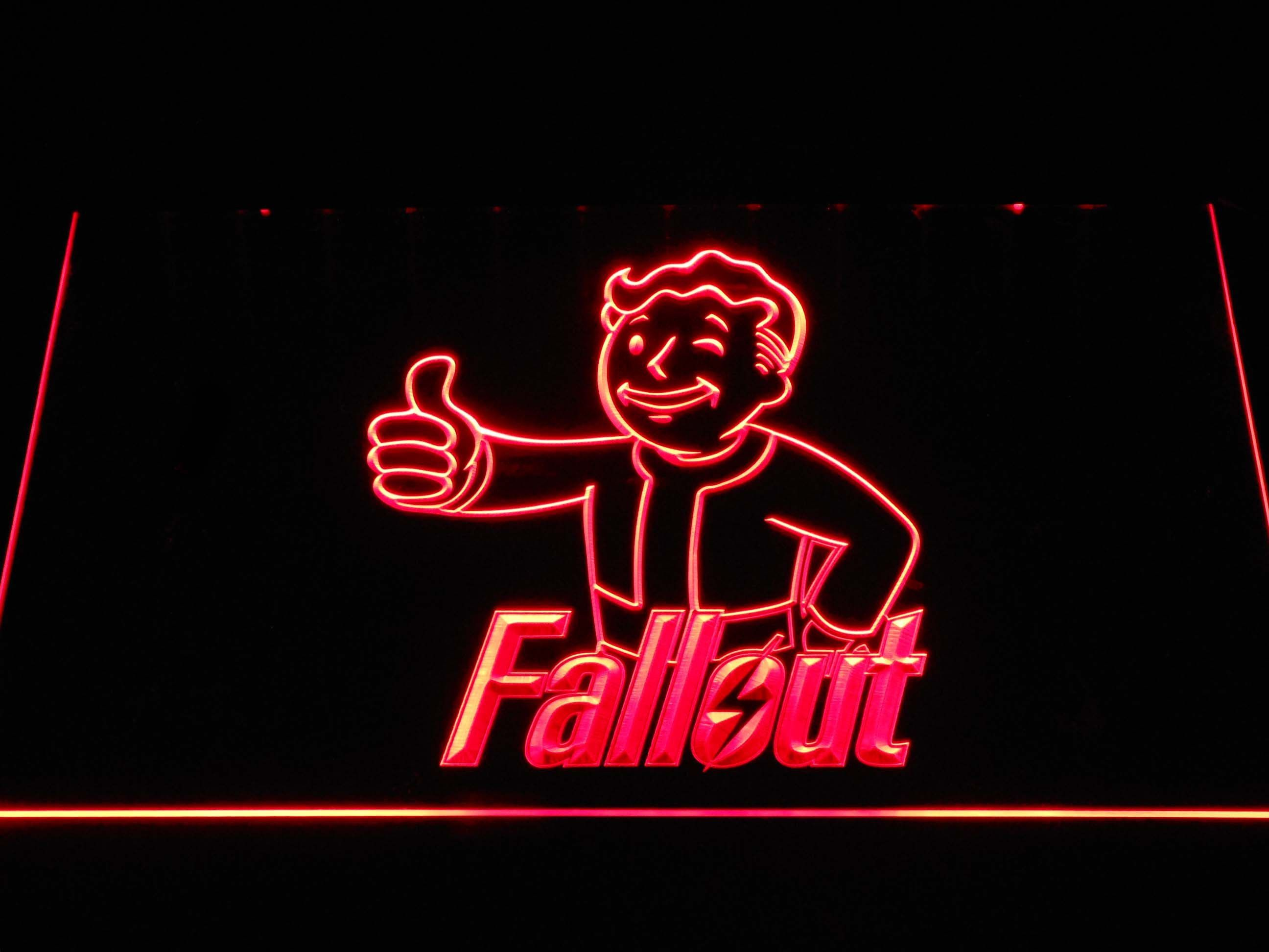 Fallout Vault Boy LED Neon Sign in 2019 Neon signs, Led