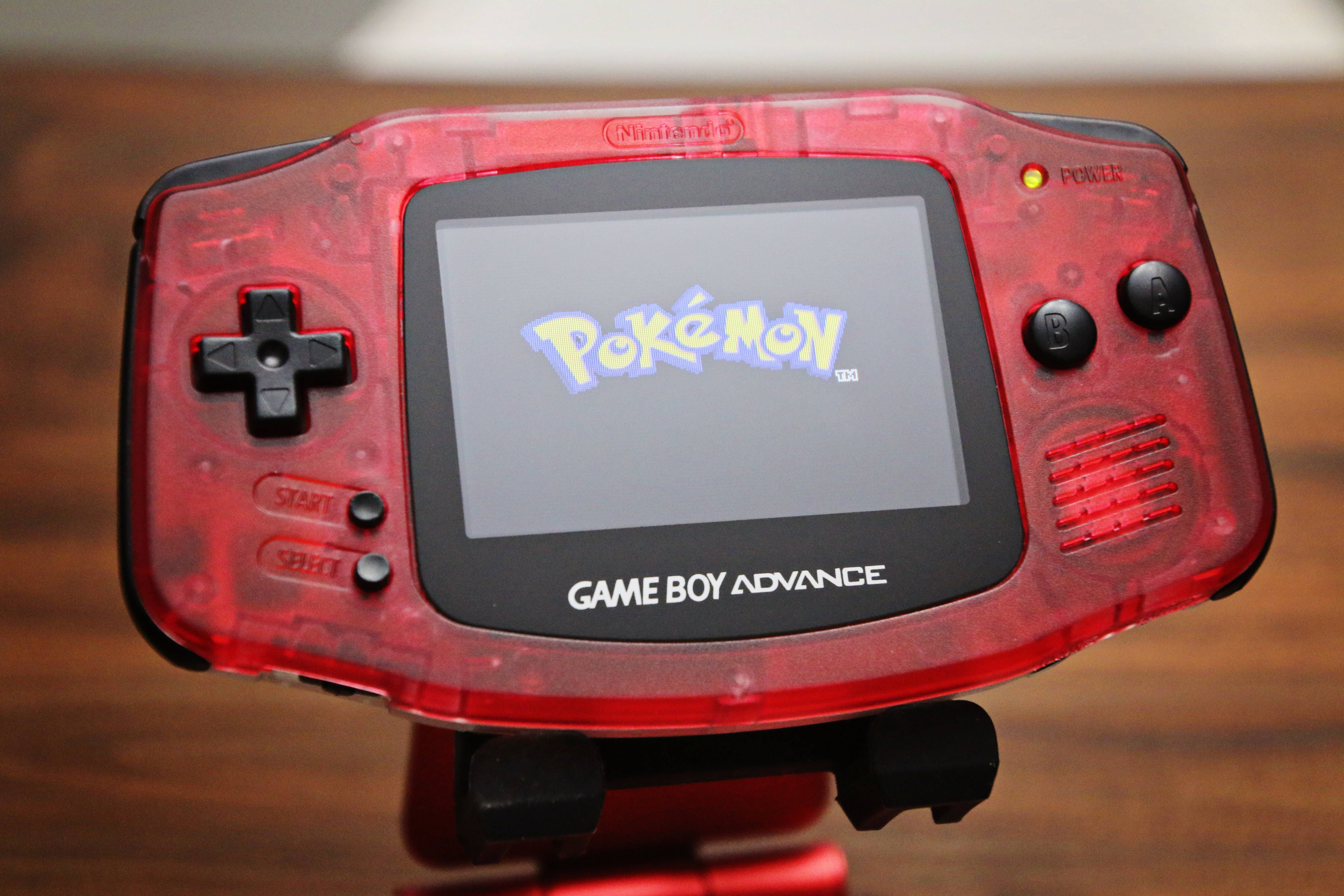 I Made A Backlit Pokeball Gameboy Advance Gameboy Retro Games Console Game Boy Advance