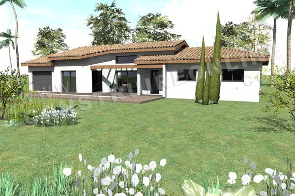 Plan Maison Mediterraneenne Ooreka 2