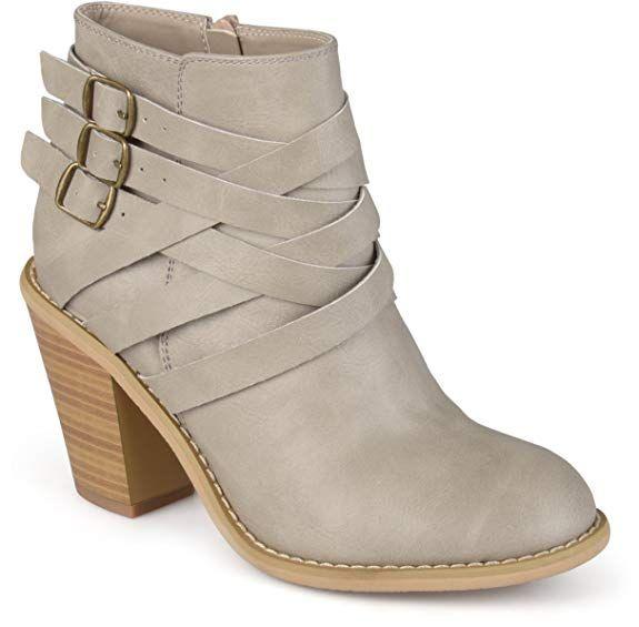 9a3bdd5eaeac Brinley Co Womens Ankle Multi Strap Boots