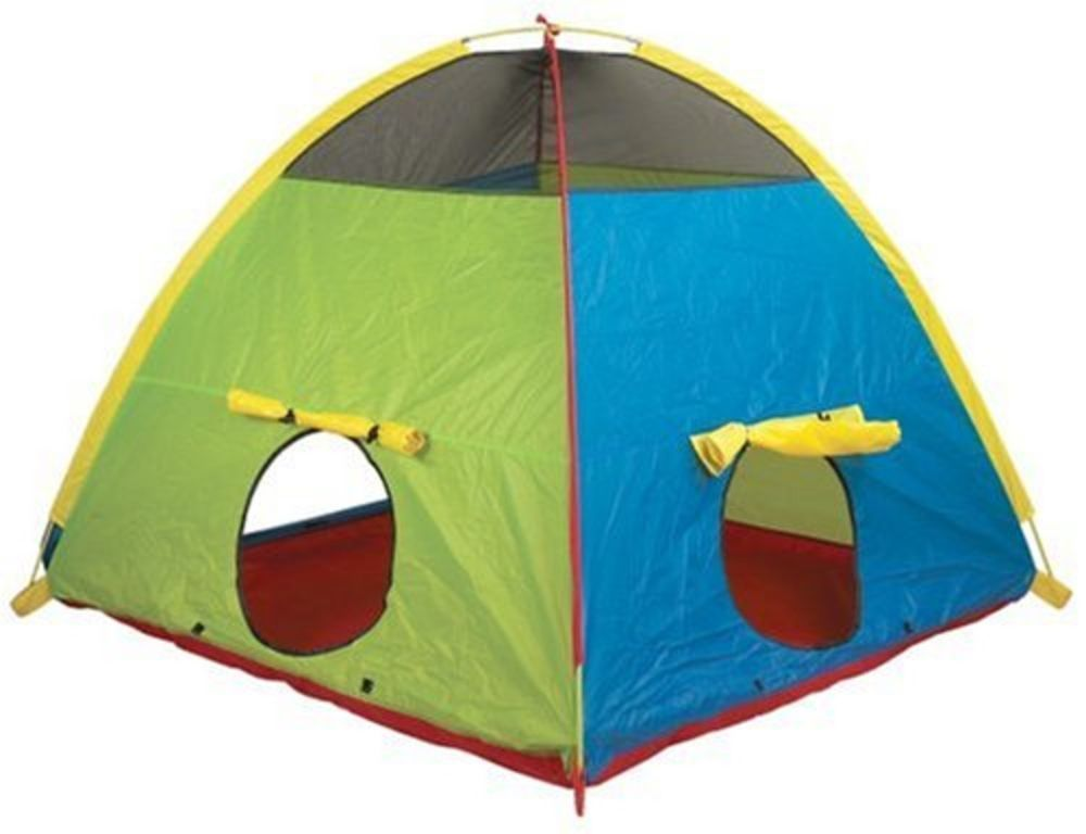 Kid Tents Part - 28: Play Tents Kid Tent Indoor Outdoor Fort Fun Toddler Folding Popup Cubby  Hideaway