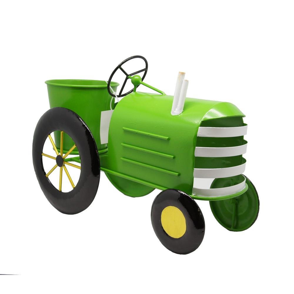 Metal Tractor Windmill Planter by Fox River CreationsTM