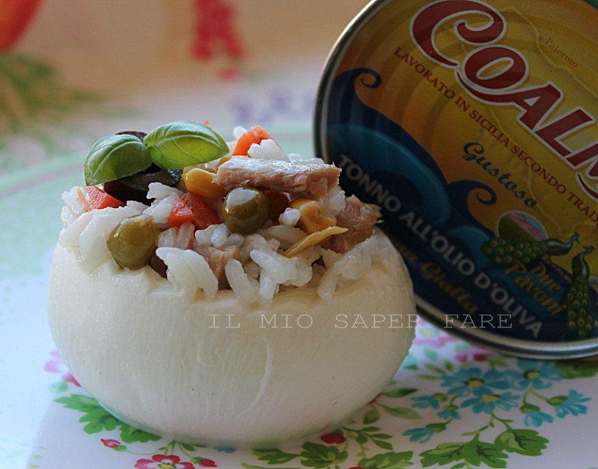 Delicious #rice salad with #Coalma tuna. By @Il Mio Saper Fare