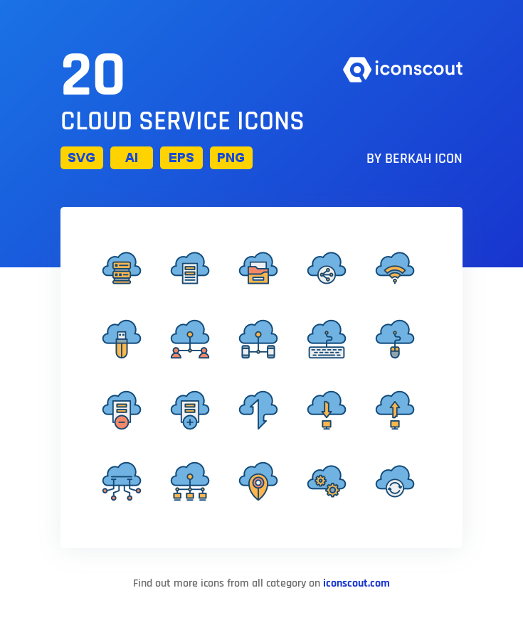 Download Cloud Service Icon Pack Available In Svg Png Eps Ai Icon Fonts Cloud Services Icon Pack Clouds