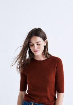 Ribbed Sweater Top | ALICE daytime looks | Pinterest | Clothes