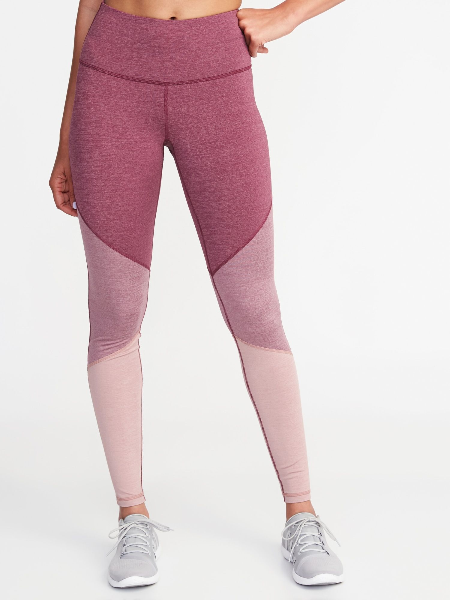 b146d5a000 High-Rise Color-Block Elevate Compression Leggings for Women in 2019 ...