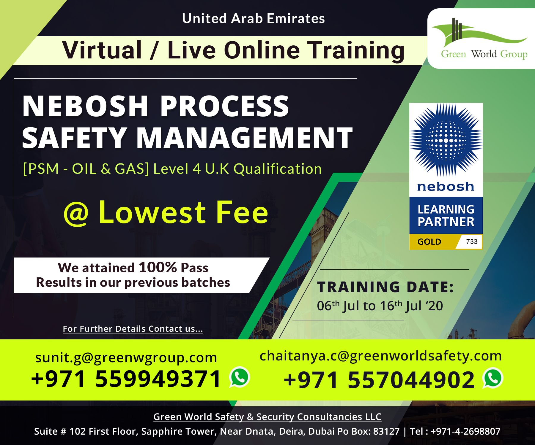 Pin on Join Nebosh PSM / Virtual Live Online with GWG